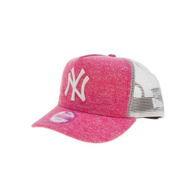 dámská kšiltovka New Era Flecked Trucker 2016 - pink  c4aeef3c8b