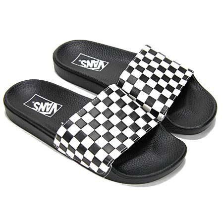 48956dff05a Nazouváky Vans Slide-On 2016 - Checkerboard white