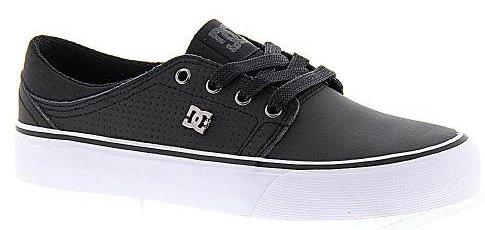 Dámské boty DC Trase LE 16 17 - Black  Black   White  c7dcedb78e