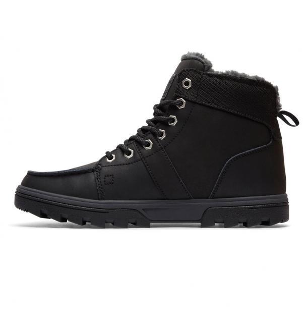 Zimní Boty DC WOODLAND 17 18 - Black   Black   Grey  083311fce0