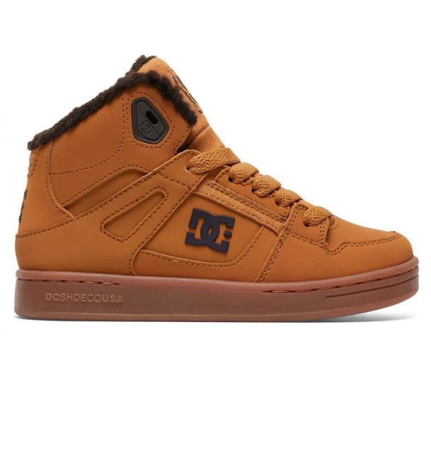 Dětské zimní boty DC Rebound WNT 17 18 - Wheat  768cde4648