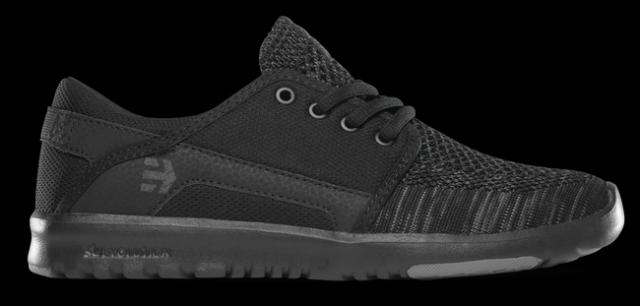 Dámské boty Etnies Scout Yarn Bomb W S 2018 - Black   Grey   Black ... e1533e4554