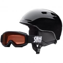 Dětská helma Smith Zoom Jr. 15/16 - black 48-53cm