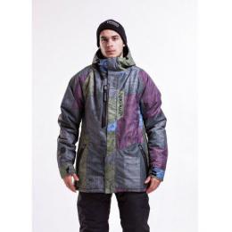 pánská zimní bunda Meatfly Epic Jacket 15/16 - F-Aftermath Print