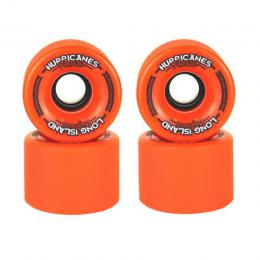 longboard kolečka Long Island Hurricanes Freeride wheels 15/16 - 65 x 47mm 83A