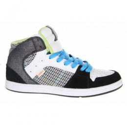 Boty Etnies Perry Mid w - black grey white