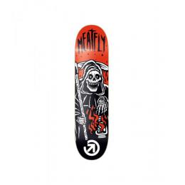 Skate deska Meatfly Mort 2016 - Black/Red