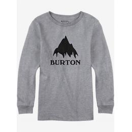 Mikina Burton MB Classic MTN Crew 16/17 - Gray heather