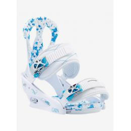 dámské snowboardové vázání Burton Citizen 16/17 - WHITE/BLUE