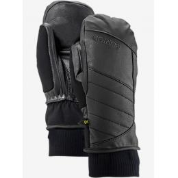 dámské rukavice Burton Favorite Leather mitt 16/17 - TRUE BLACK