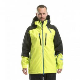 pánská zimní bunda Nugget Parity Jacket 16/17 - D-Black/Safety Yellow
