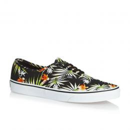 Boty Vans Authentic 2017 - (Decay Palms) Black/True white