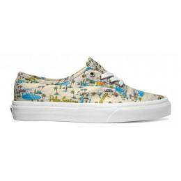 Boty Vans Authentic 2017 - (Palm springs) Cloud Cream/True White