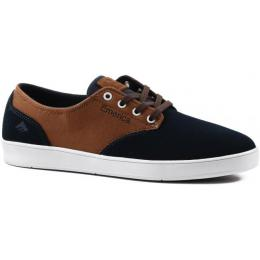 boty Emerica The Romero Laced 2017 - NAVY/BROWN/WHITE