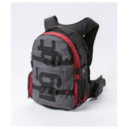 Batoh Nugget Arbiter 3 Backpack 30L 17/18 - D - Heather Charcoal/ Heather Red
