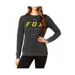 Dámská mikina Fox Growled PO Crew 17/18 - Black