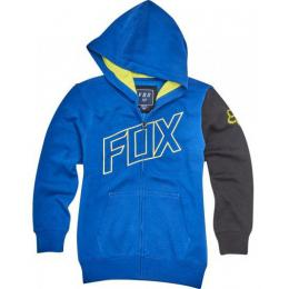 Mikina Fox Moto Vation Zip Youth 17/18 - Blue