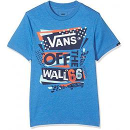 Tričko Vans Stenciled II Boys 17/18 - Royal Heather/Dress Blues