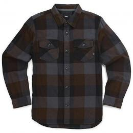 Košile Vans Box Flannel 17/18 - black-asphalt