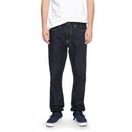Kalhoty DC Worker Straight 17/18 - BTKW - Indigo Rinse