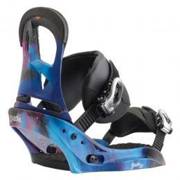 dámské snowboard vázání Burton Scribe EST 17/18 - NORTHERN LIGHTS