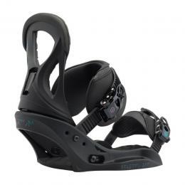 dámské snowboard vázání Burton Stiletto EST 17/18 - BLACK MATTE