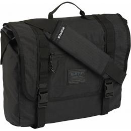 Taška Burton Flint Messenger 20L 17/18 - TRUE BLACK TRIPPLE RIPSTOP