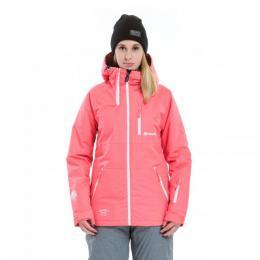 Dámská bunda Meatfly Sarla Jacket 17/18 - B - Neon pink