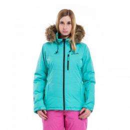 dámská zimní bunda Meatfly Fluffy 2 Jacket 17/18 - D-Mint Heather