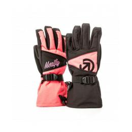 Rukavice Meatfly Destiny 17/18 - C - Black/Pink Neon
