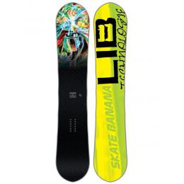 snowboard Lib Technologies Sk8 Banana BTX 17/18 - 162Wide
