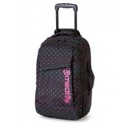 Cestovní taška Meatfly Revel Trolley Bag 40L 2018 - B - Rainbow Print