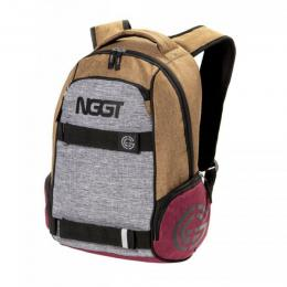 Batoh Nugget Bradley 2 Backpack 18/19 - H - Heather Sand, Heather Grey
