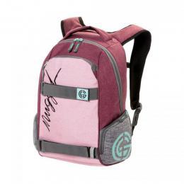 Batoh Nugget Bradley 2 Backpack 18/19 - G-Ht. Powder Pink, Ht. Grey