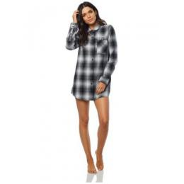 Košile Fox Moto X Long Flannel 18/19 - Blk/Wht