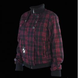 Bunda Meatfly Moloko Jckt w - black/red plaid D