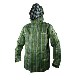Bunda Meatfly Basic ž - C Green plaid