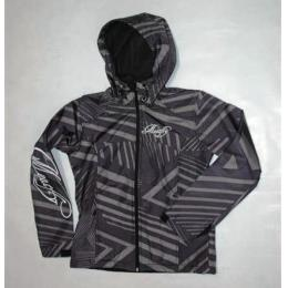 Bunda MeatFly Chikita - B/triangle black-grey