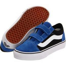 boty Vans Old Skool V kids 12 - nautical blue/black