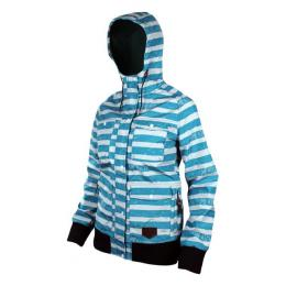 Bunda Meatfly Ducati Softshell 12/13 - B Blue Stripes