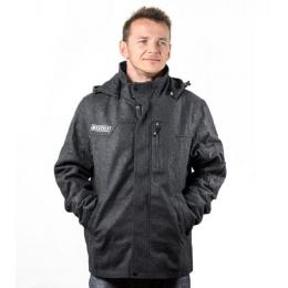 bunda Meatfly Melton Jacket 13/14 - A dark grey