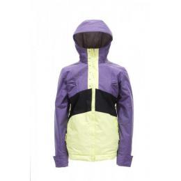 dívčí bunda Nugget Desert Girls 12/13 - D-violet/black/lemon
