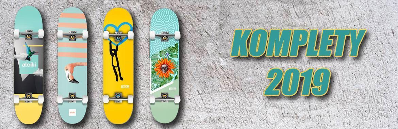 Skateboard komplety 2019