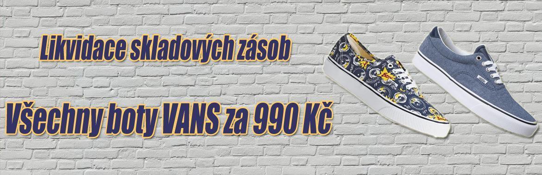 Boty Vans 990,-Kč
