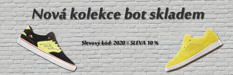 Nová kolekce bot 2020