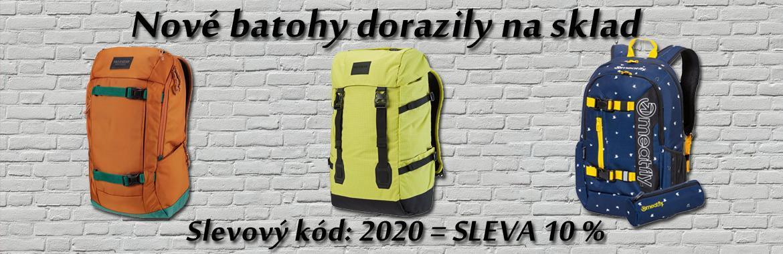 Nové batohy 2020