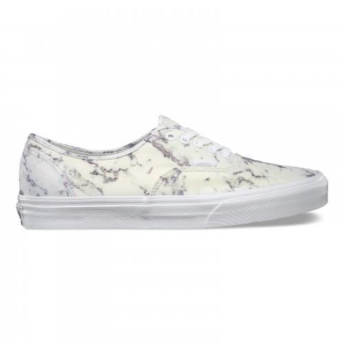 Dámské boty Vans Authentic 16 17 - True White (Marble)  d03df632fb