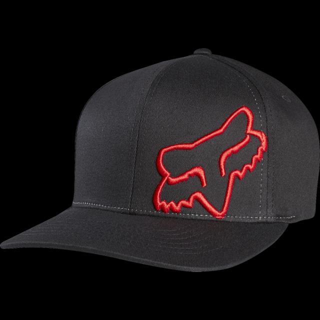 3647570abf6 Kšiltovka Fox Flex 45 Flexfit 17 18 - Black Red