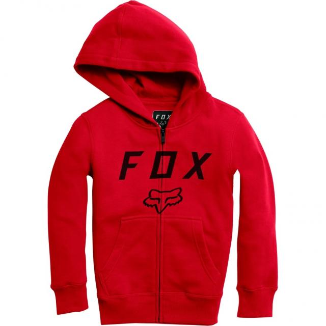 Mikina Fox Youth Legacy Moth Zip Fleece 17/18