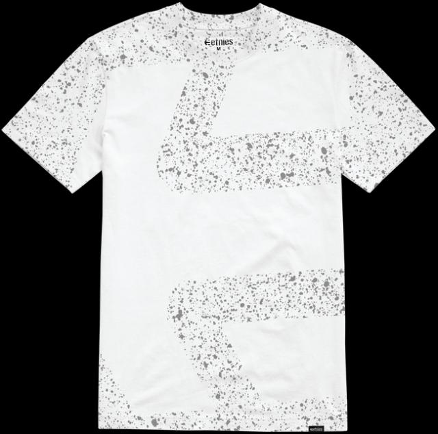 Pánské triko Etnies Speckle Icon SS TEE 2018